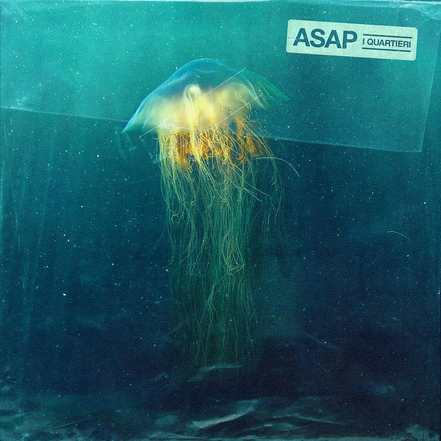 Copertina del disco ASAP. Artwork di Valerio Bulla.