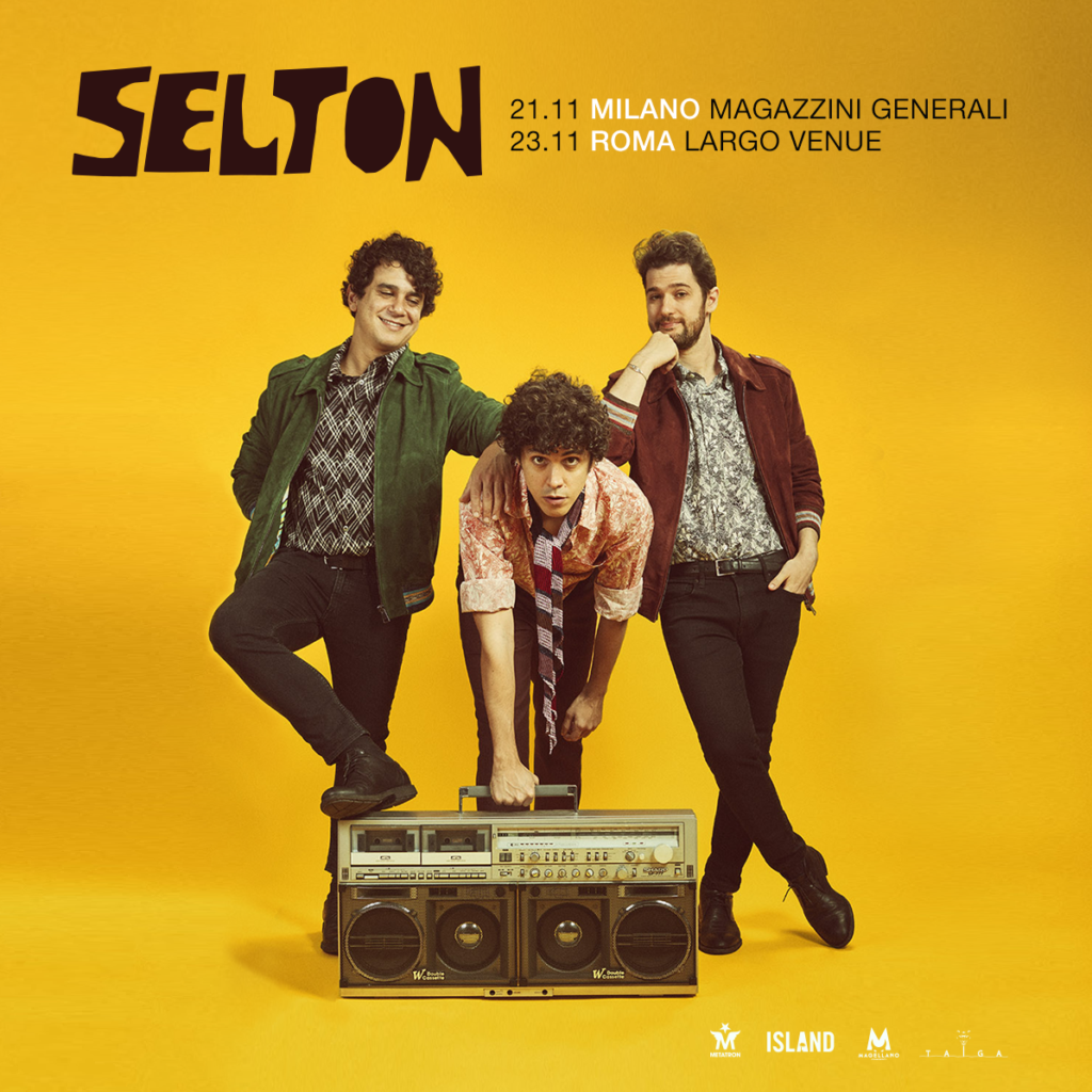 Selton: il 21 novembre la band si esibirà ai Magazzini Generali 1