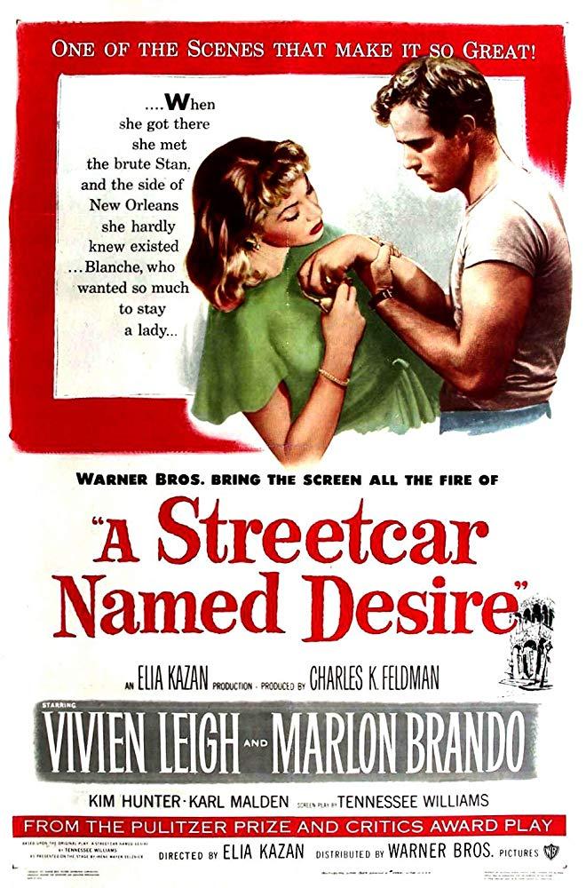 """""""Un tram che si chiama desiderio"""": gli esordi di Marlon Brando 1"""
