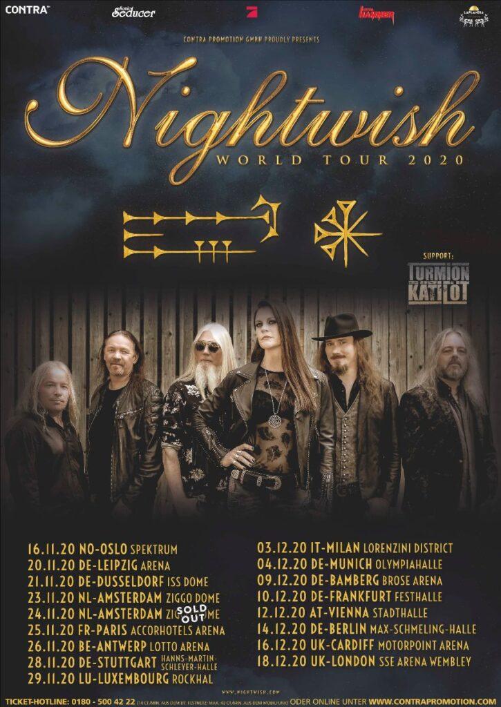 """Nightwish annunciano il nuovo album in studio """"Human.:II: Nature"""" 1"""