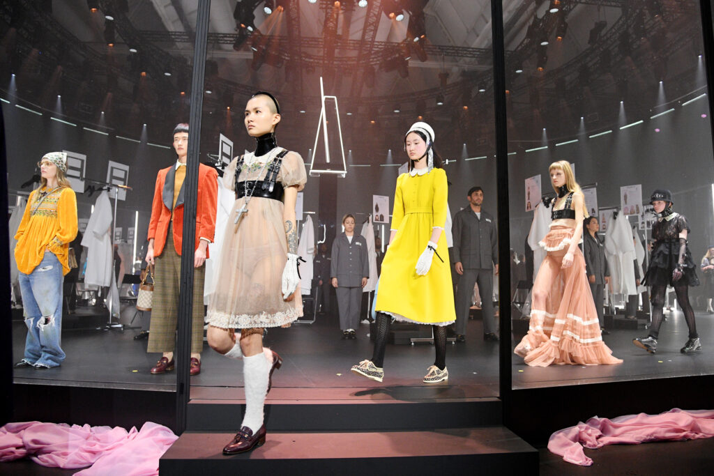 Gucci fashion week 2020
