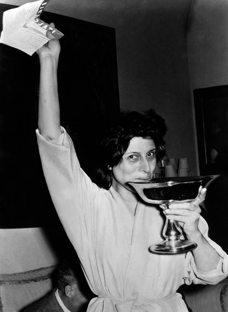 Anna Magnani e quello storico Oscar alla migliore attrice 1