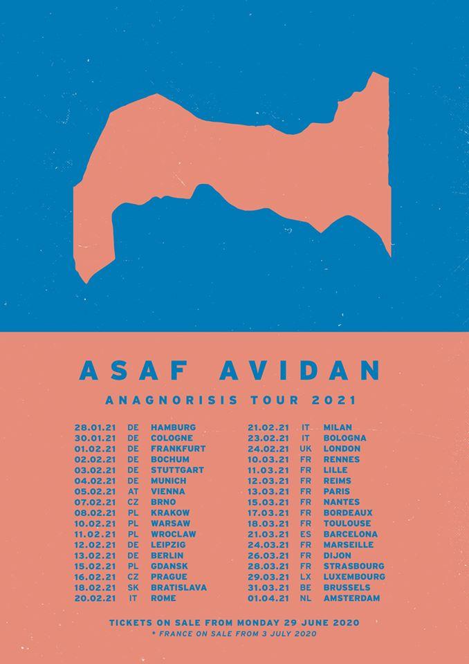 Asaf Avidan annuncia il suo nuovo album e tour 1