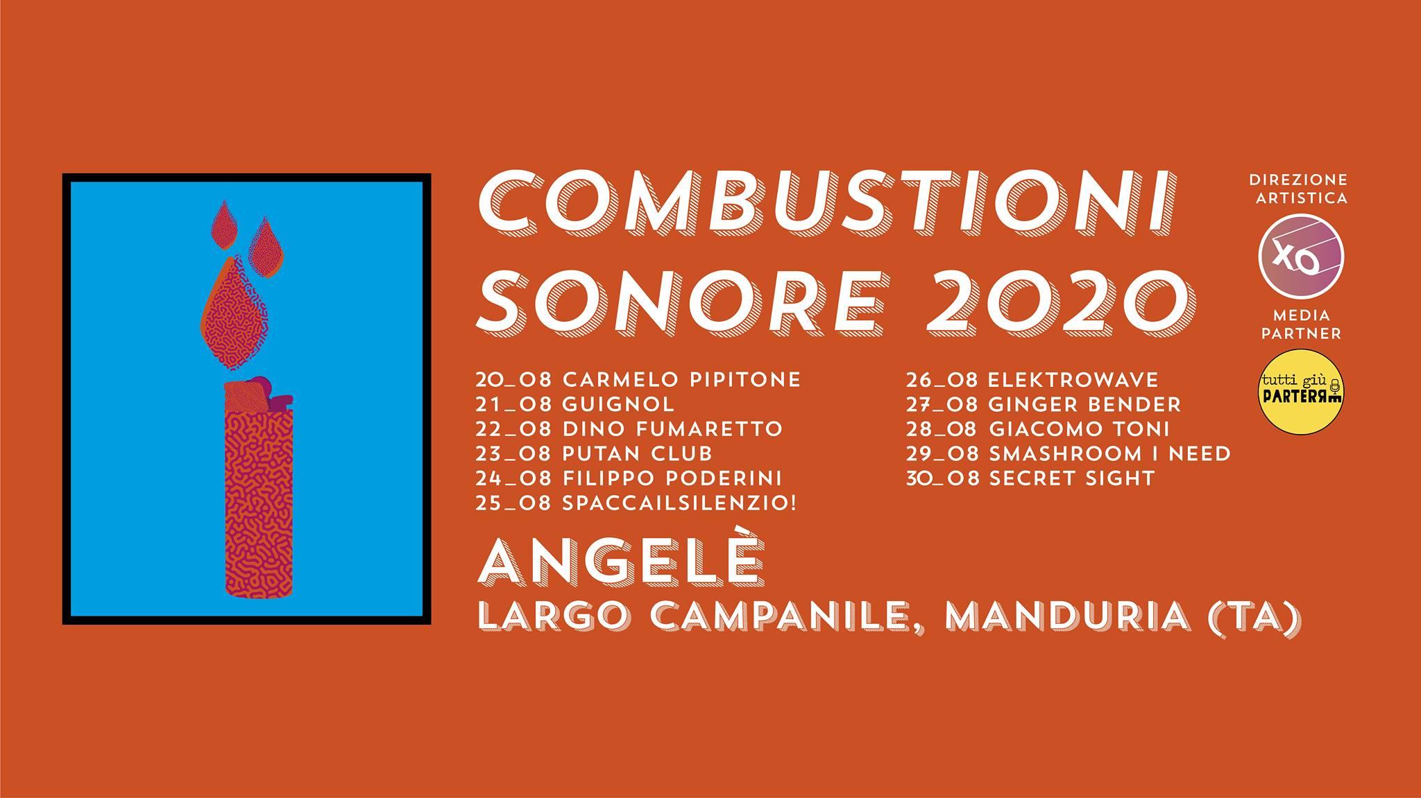Combustioni Sonore: undici giorni di live a Manduria 2
