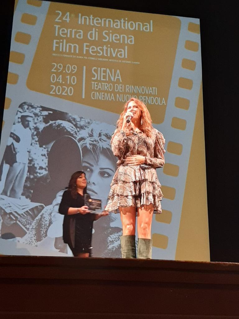 Janet De Nardis protagonista del Terra di Siena International Film Festival