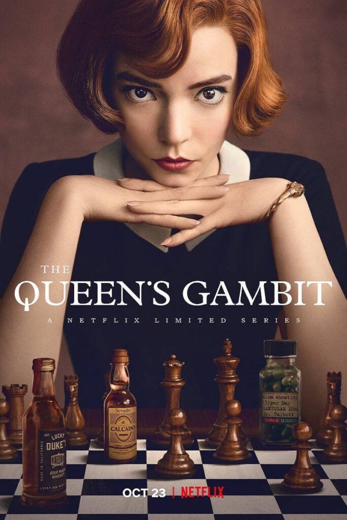 La regina degli scacchi poster