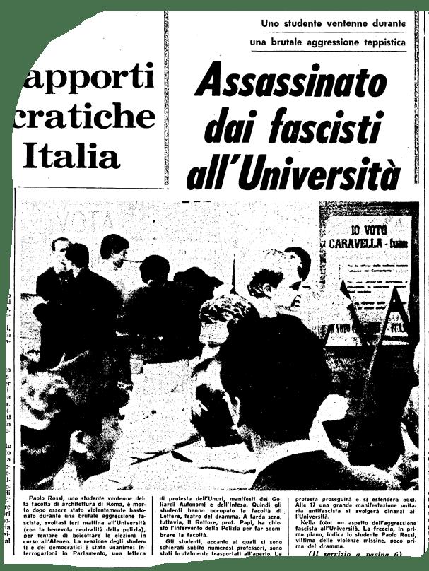 Paolo Rossi era un ragazzo come noi, storia di un malinteso. 1