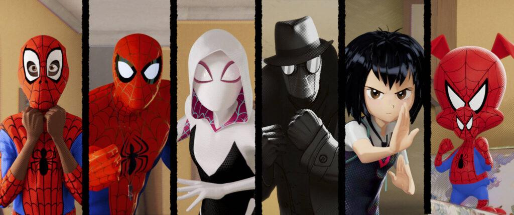 Spider-Man Into the Spider-Verse 1