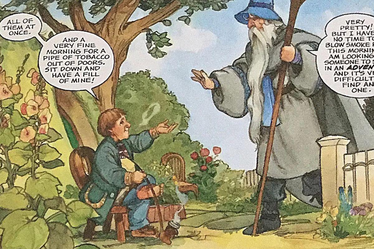 Lo Hobbit a fumetti: un viaggio nella Terra di Mezzo 1
