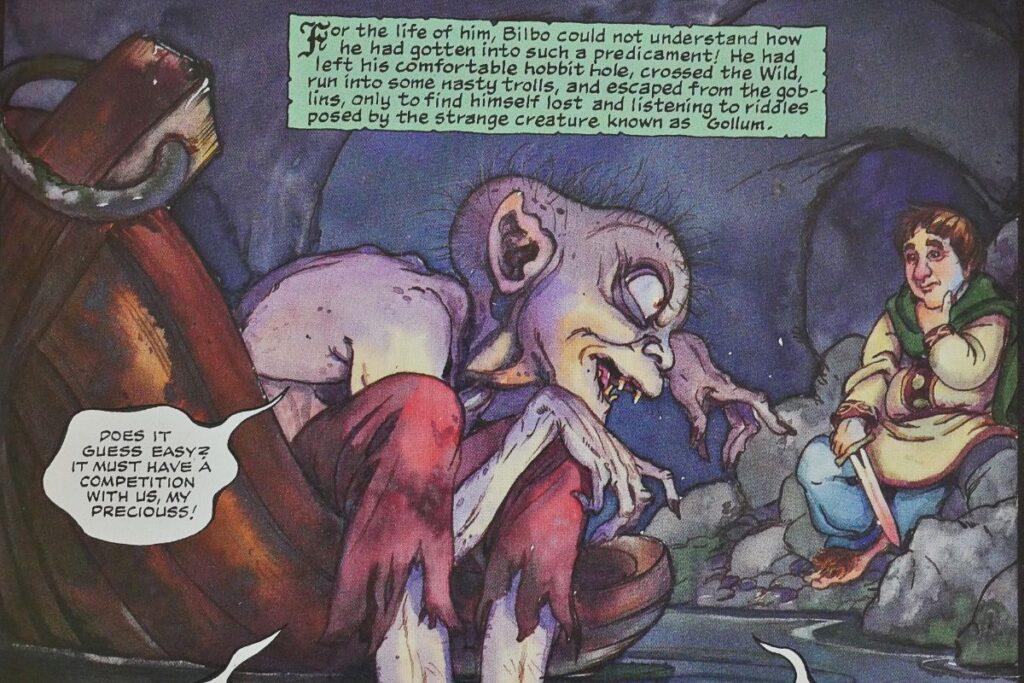 lo hobbit fumetto