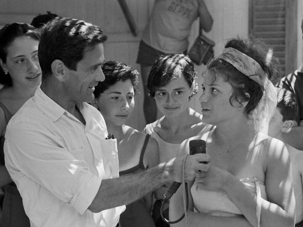 Pier Paolo Pasolini e i Comizi d'amore 1