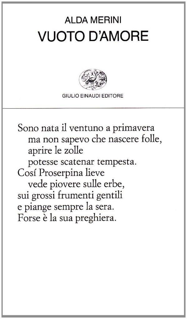 Alda Merini: Proserpina che rinasce a ogni nuova primavera 2