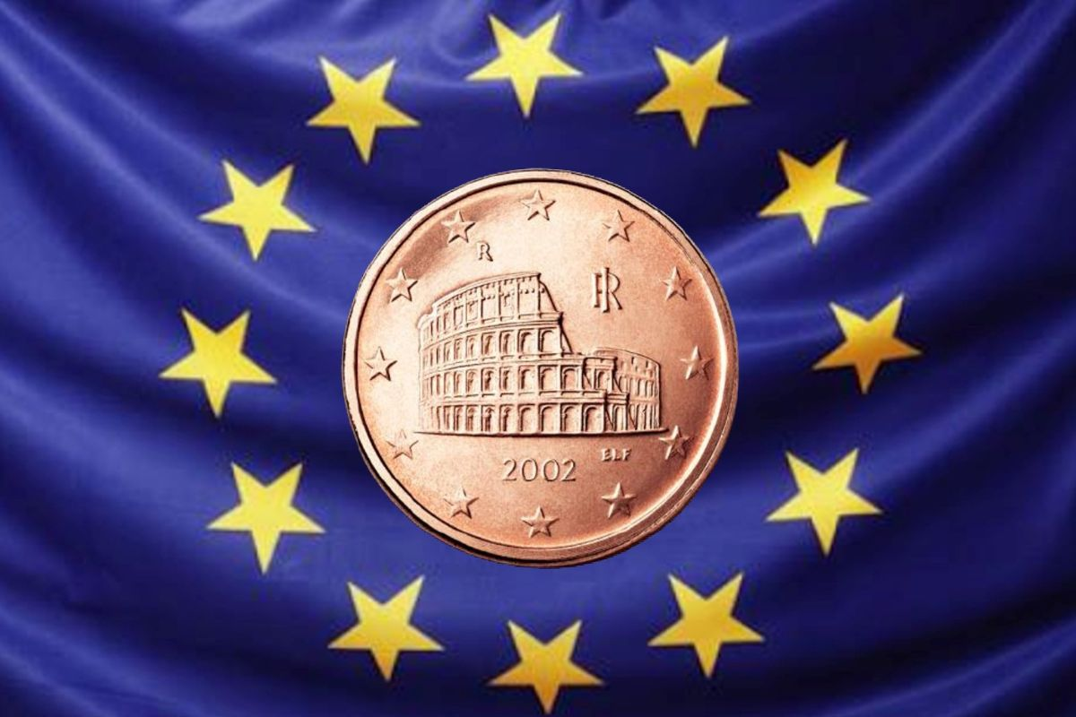 Colosseo nell'euro
