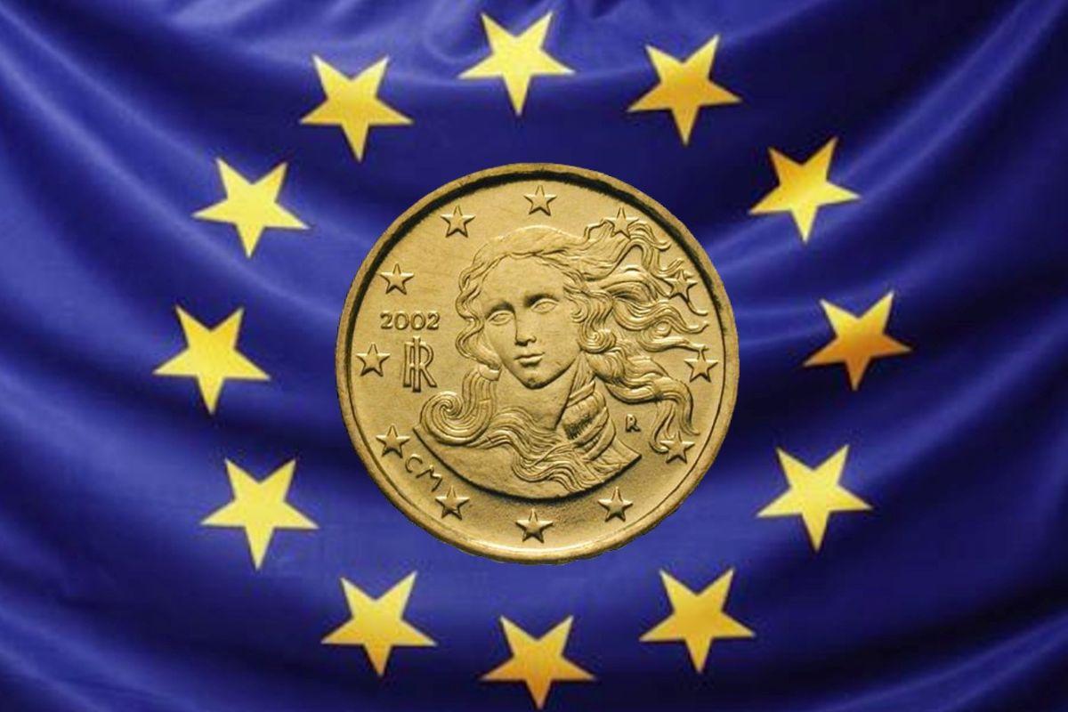 Venere di Botticelli in euro