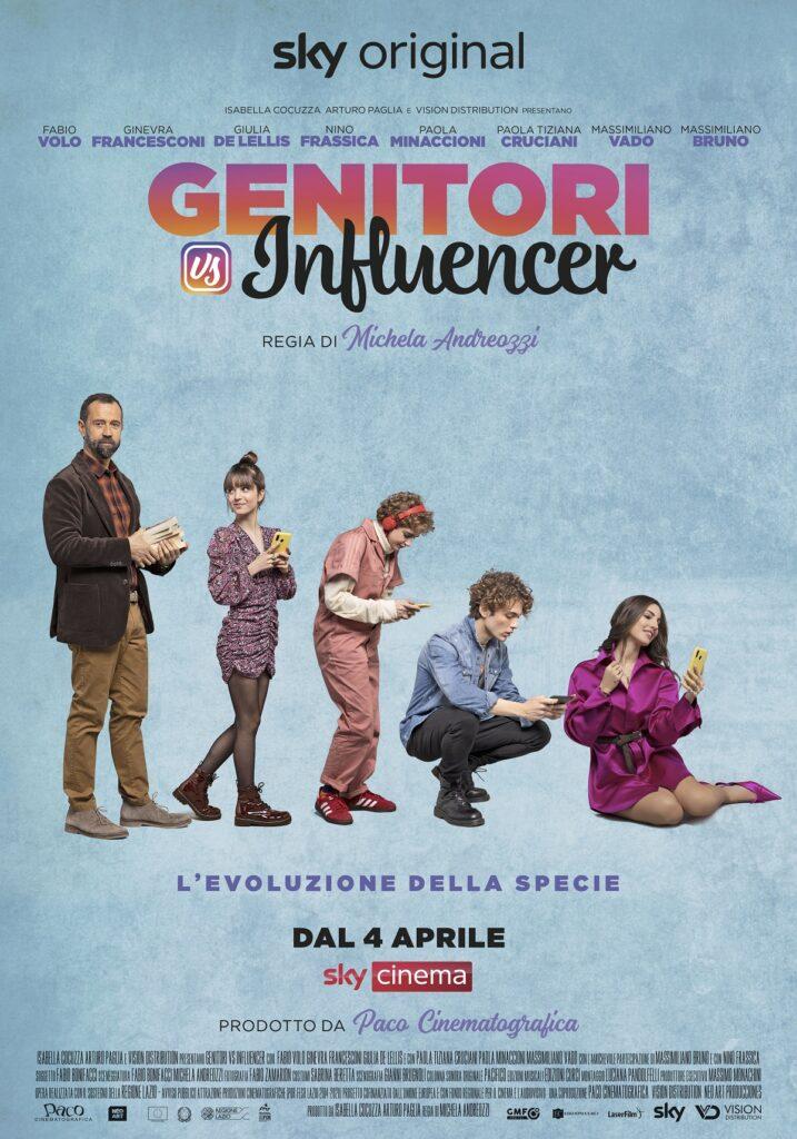 Genitori vs Influencer: il nuovo film Sky Original in prima assoluta il 4 aprile su Sky Cinema e in streaming su NOW 1