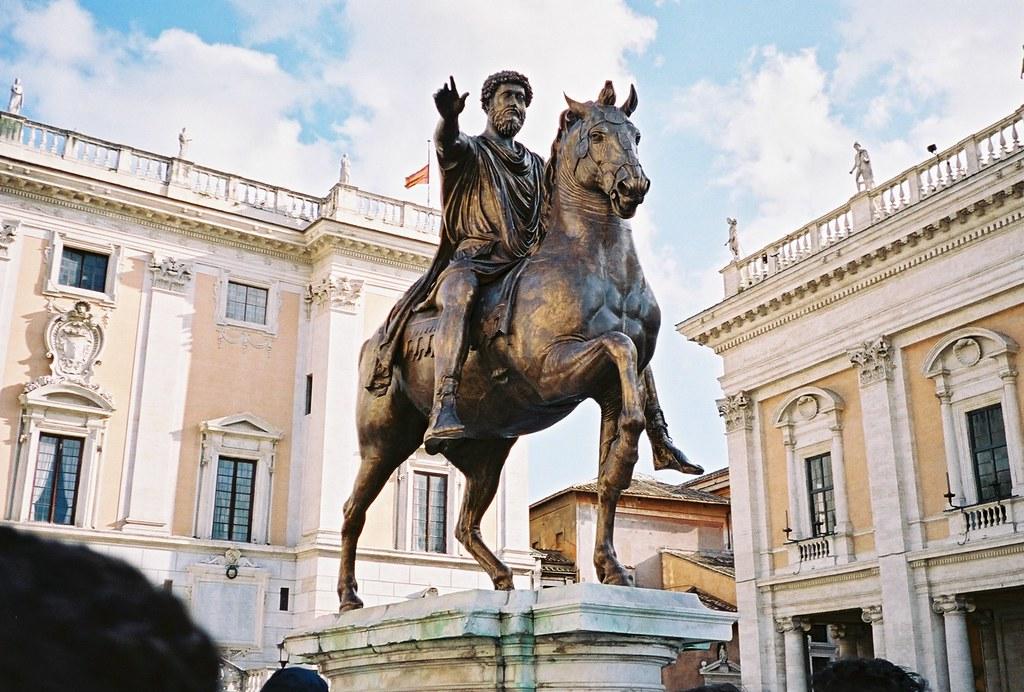 Gli euro raccontano: da Marco Aurelio possiamo solo imparare 2