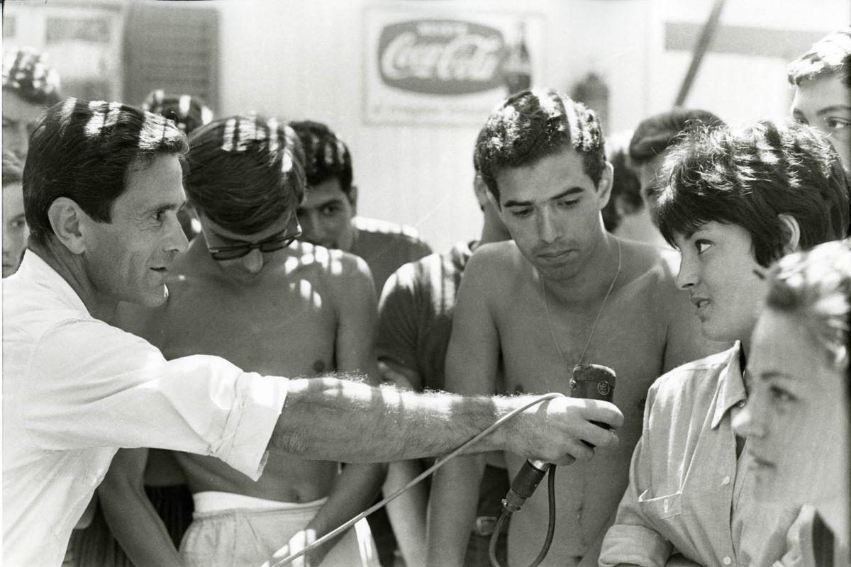 Pier Paolo Pasolini in Comizi d'amore