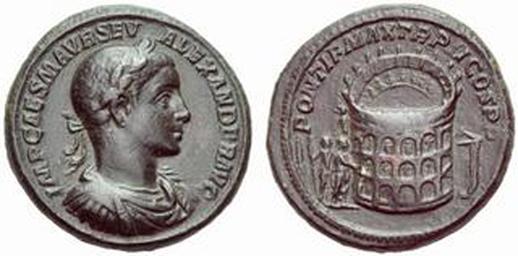 Sesterzio Colosseo Alessandro Severo