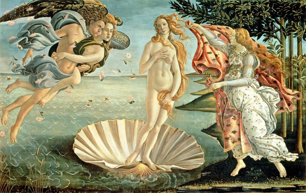 Gli euro raccontano: La conchiglia, il mare, la rosa, ovvero i simboli di Venere e Maria. 1