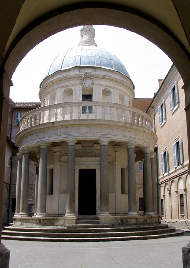 Donato Bramante (1444-1514): architetto, poeta e studioso dell'arte classica del Rinascimento italiano. 2