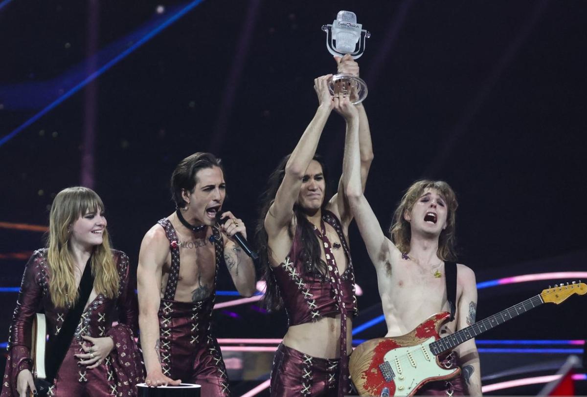 Maneskin Eurovision song contest 2021 vincono