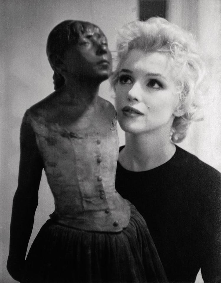Marilyn Monroe, diva del cinema americano degli anni '60 e musa ispiratrice della PopArt di Andy Warhol 5