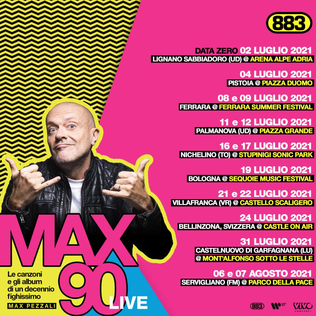 max90 live max pezzali