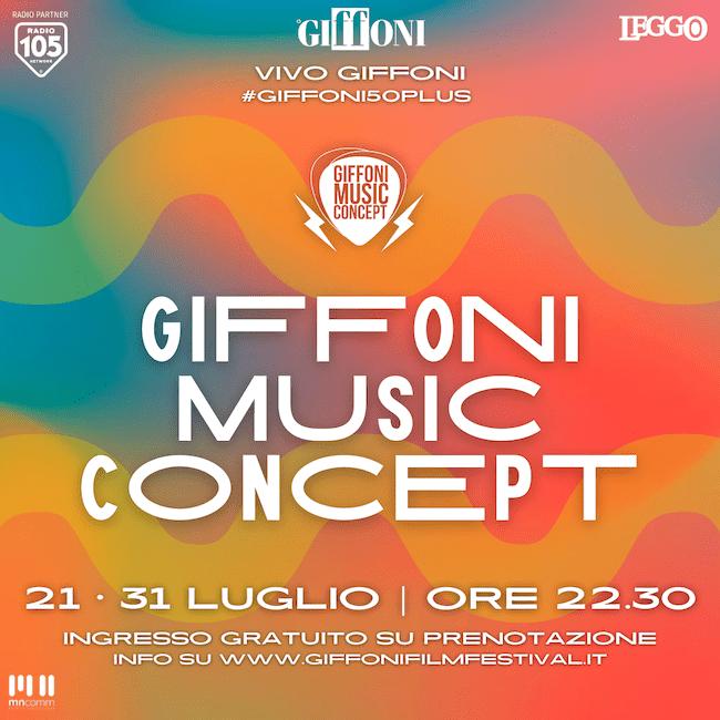 Giffoni Music Concept 2021: in programma gli showcase live di numerosi artisti