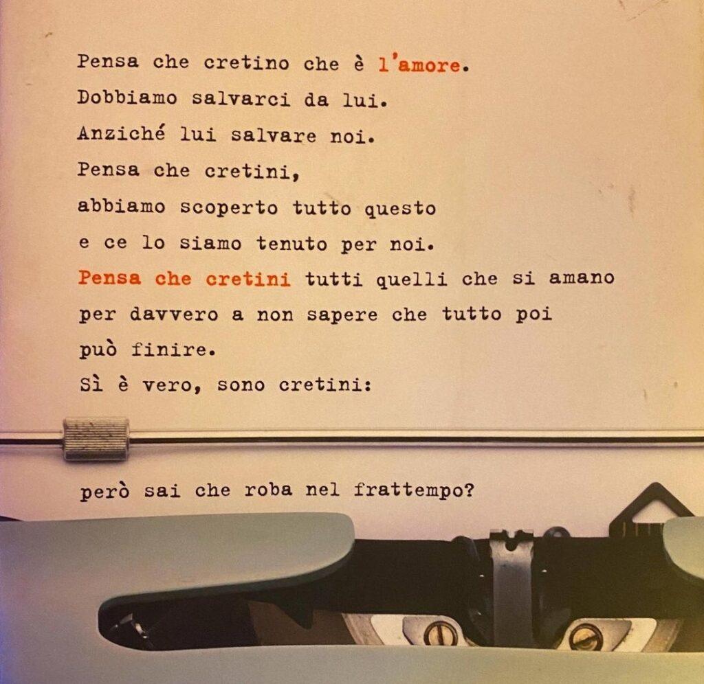 """""""Pensa che cretino che è l'amore"""", l'ultimo libro di Luca Gamberini 6"""