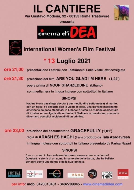 Festival Cinema D'Idea - Women's Film Festival: Torna il Cinema a Roma