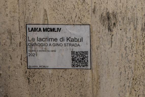 Le Lacrime di Kabul (Omaggio a Gino Strada): L'ultima opera di Laika