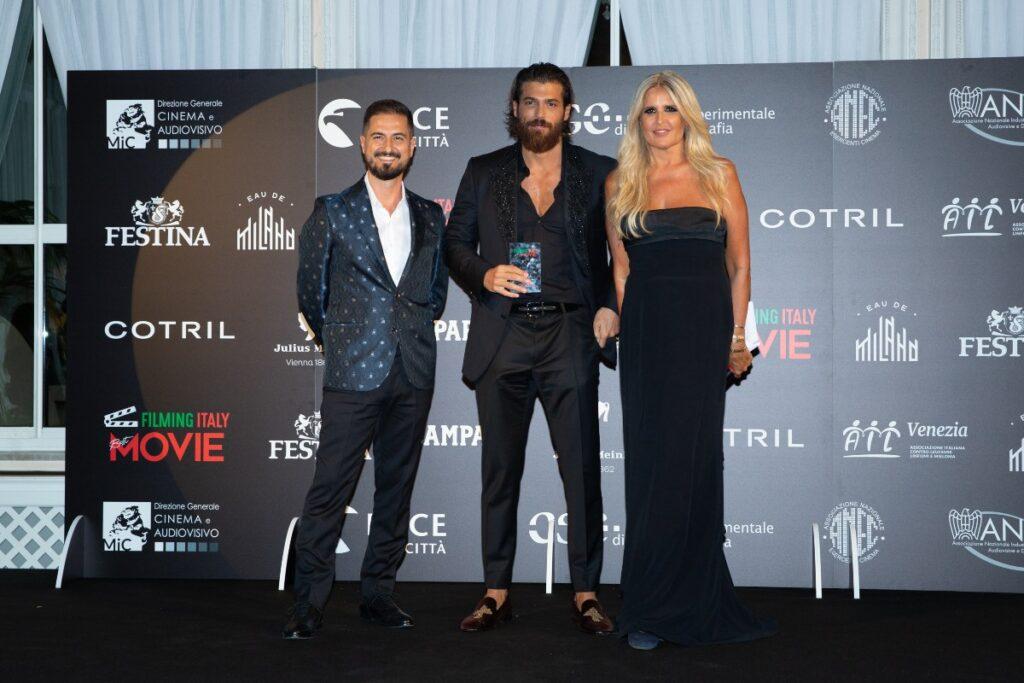 Venezia 78, i premiati del Filming Italy Best Movie Award