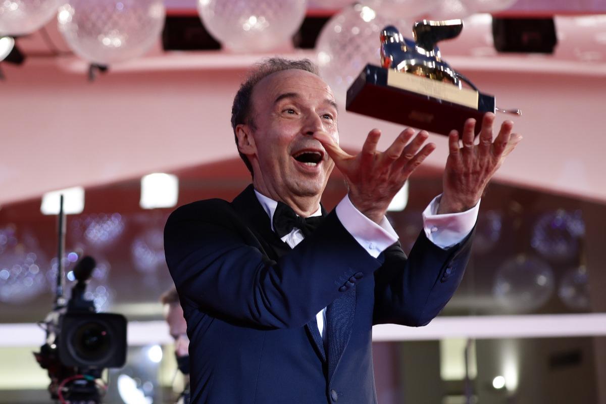A Roberto Benigni il Leone d'Oro alla Carriera a Venezia 78