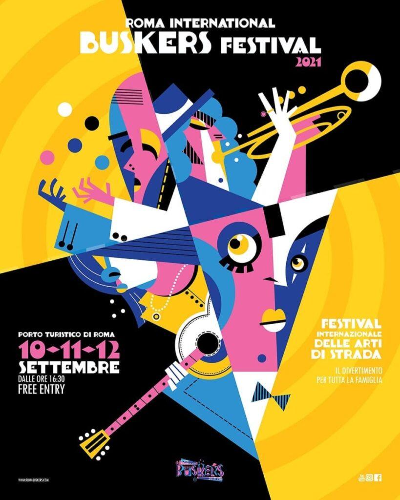 Roma International Buskers Festival 2021: tutto pronto per la seconda edizione | Il programma delle tre giornate