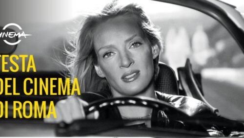 Festa del Cinema di Roma 2021 – Uma Thurman nella locandina ufficiale