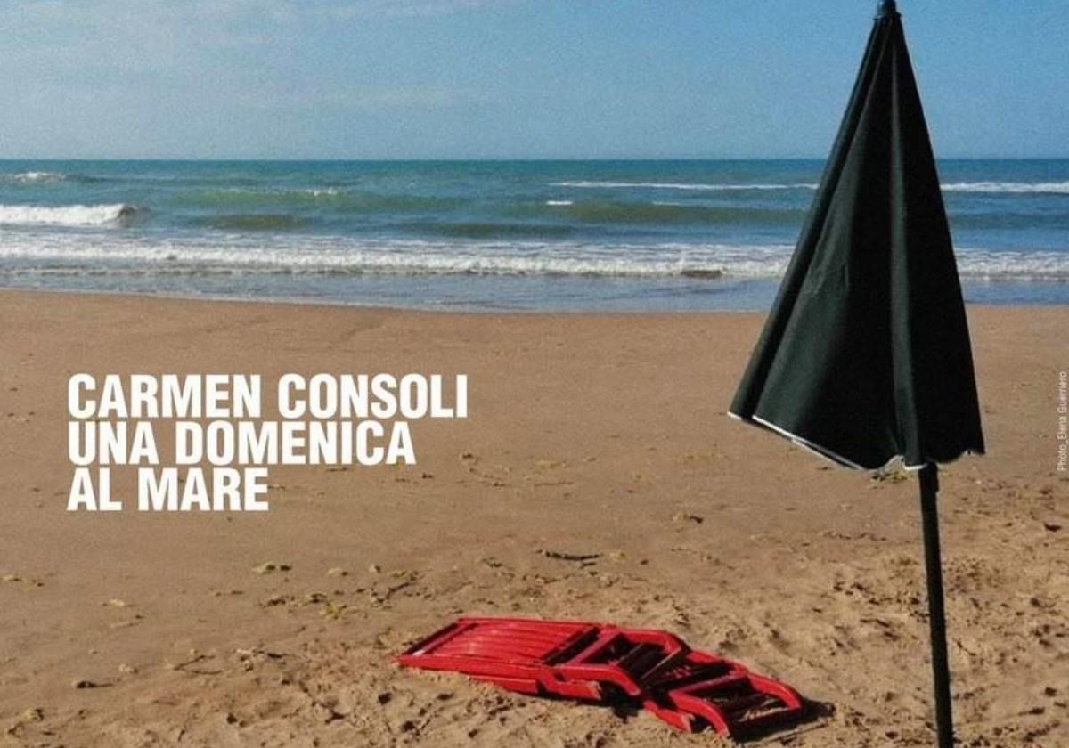 Una domenica al mare, Carmen Consoli gioca tra lirismo, nostalgia ed attualità