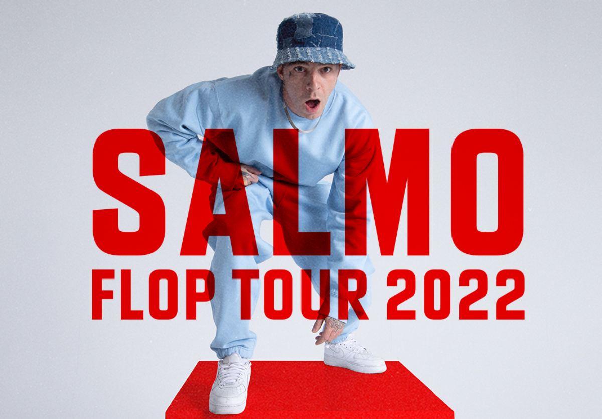 Salmo annuncia il Flop Tour: Tutte le date